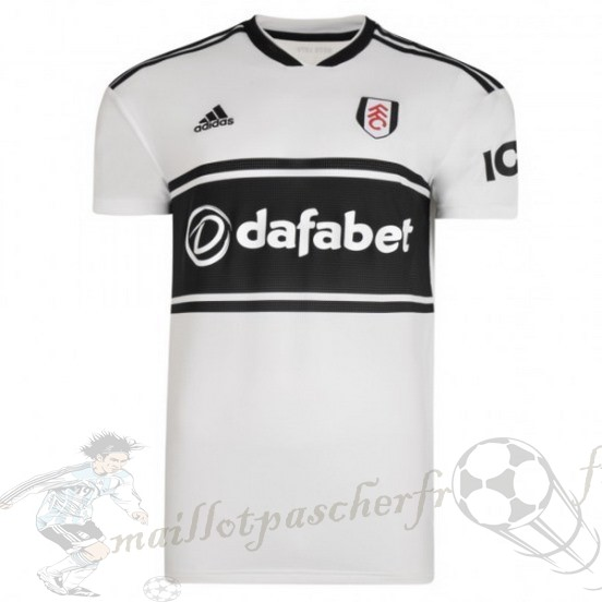 Equipement Maillot Foot Adidas Domicile Maillot Fulham 2018 2019 Blanc