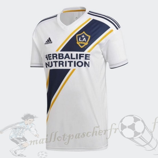 Equipement Maillot Foot Adidas Domicile Maillot Galaxy De Los Angeles 2018 2019 Blanc