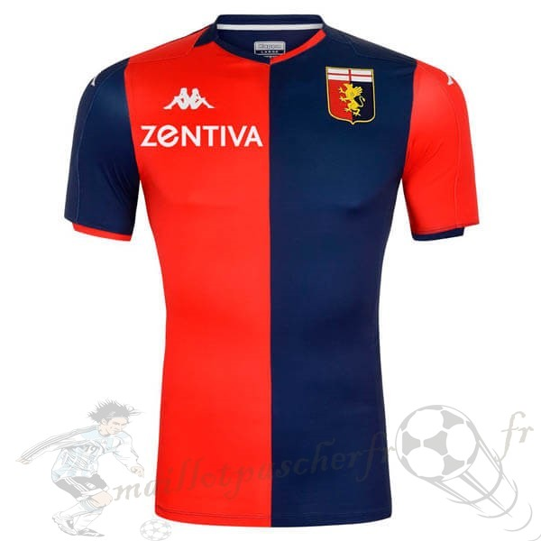 Equipement Maillot Foot Kappa Domicile Maillot Genoa 2019 2020 Rouge