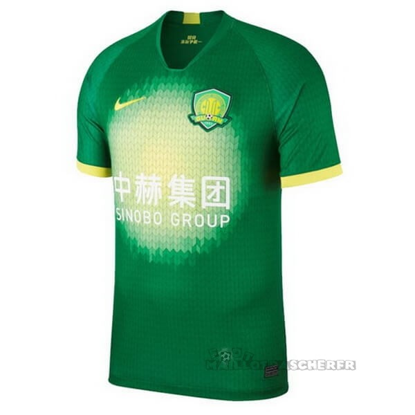 Equipement Maillot Foot Nike Domicile Maillot Guoan 2020 2021 Vert