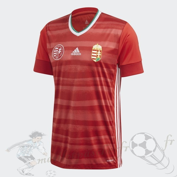 Equipement Maillot Foot adidas Domicile Maillot Hungría 2020 Rouge
