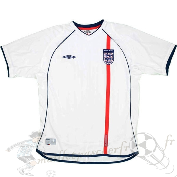 Equipement Maillot Foot umbro Domicile Maillot Angleterre Rétro 2002 Blanc