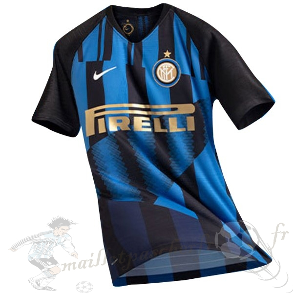 Equipement Maillot Foot Nike Maillot Internazionale Milano 20Th Bleu Noir