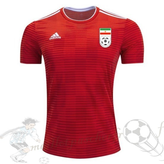 Equipement Maillot Foot Adidas Exterieur Maillot Iran 2018 Rouge