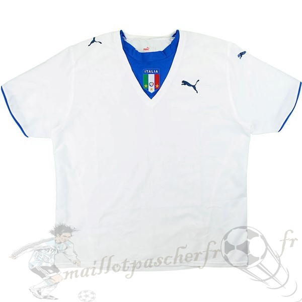 Equipement Maillot Foot PUMA Exterieur Maillot Italy Retro 2006 Blanc