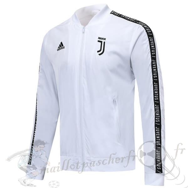 Equipement Maillot Foot adidas Coupe Vent Juventus 2018 2019 Blanc