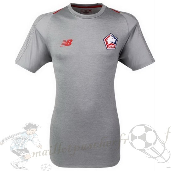Equipement Maillot Foot New Balance Third Maillot Losc 2018 2019 Gris