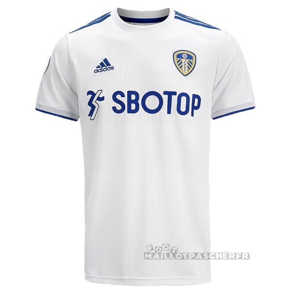 Equipement Maillot Foot adidas Domicile Maillot Leeds United 2020 2021 Blanc