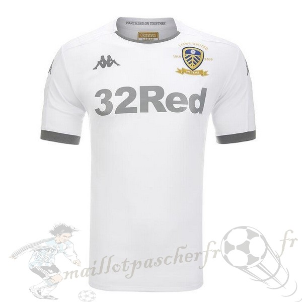 Equipement Maillot Foot Kappa Domicile Maillot Leeds United 2019 2020 Blanc