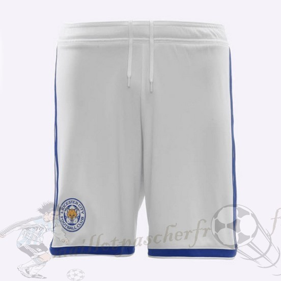 Equipement Maillot Foot Adidas Third Pantalon Leicester City 2018 2019 Blanc