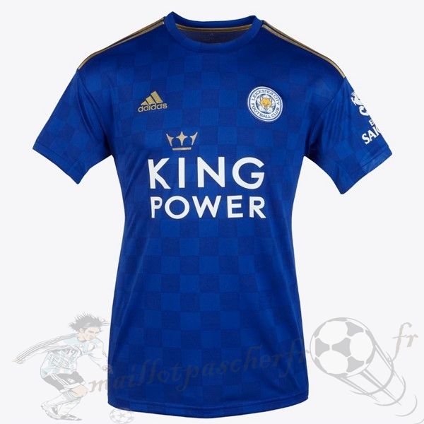 Equipement Maillot Foot adidas Thailande Domicile Maillot Leicester City 2019 2020 Bleu