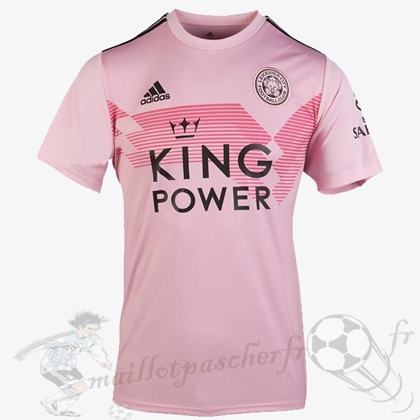 Equipement Maillot Foot adidas Thailande Exterieur Maillot Leicester City 2019 2020 Rose