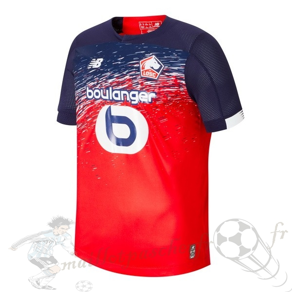 Equipement Maillot Foot New Balance Domicile Maillot LOSC 2019 2020 Rouge