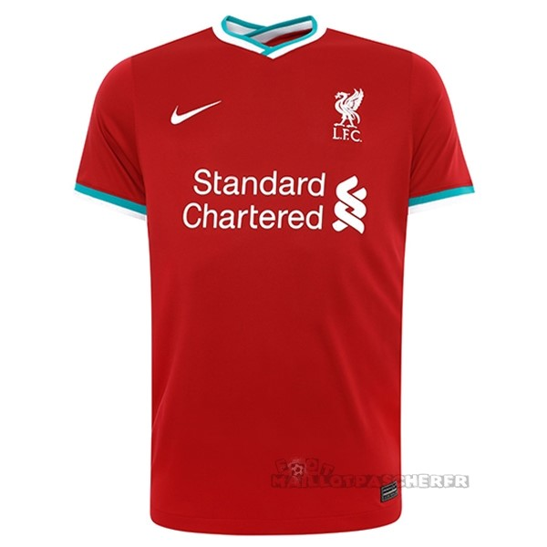 Equipement Maillot Foot Nike Domicile Maillot Liverpool 2020 2021 Rouge