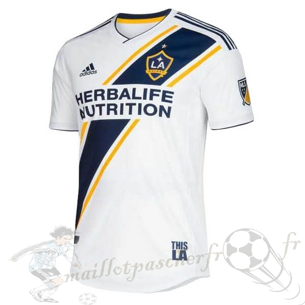 Equipement Maillot Foot adidas Domicile Maillot Los Angeles Galaxy 2019 2020 Blanc