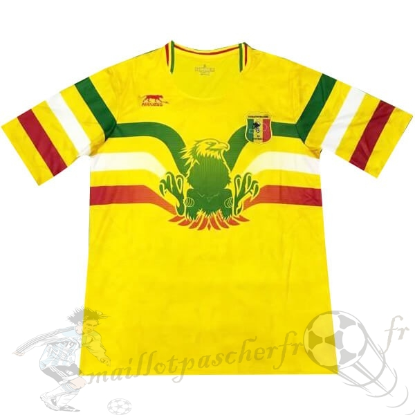 Equipement Maillot Foot Airness Domicile Maillot Mali 2019 Jaune