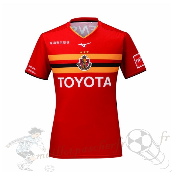 Equipement Maillot Foot Mizuno Domicile Maillot Nagoya Grampus 2019 2020 Rouge