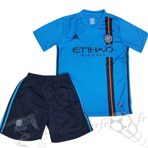 Equipement Maillot Foot Adidas DomiChili Conjunto De Enfant New York City 2019 2020 Bleu