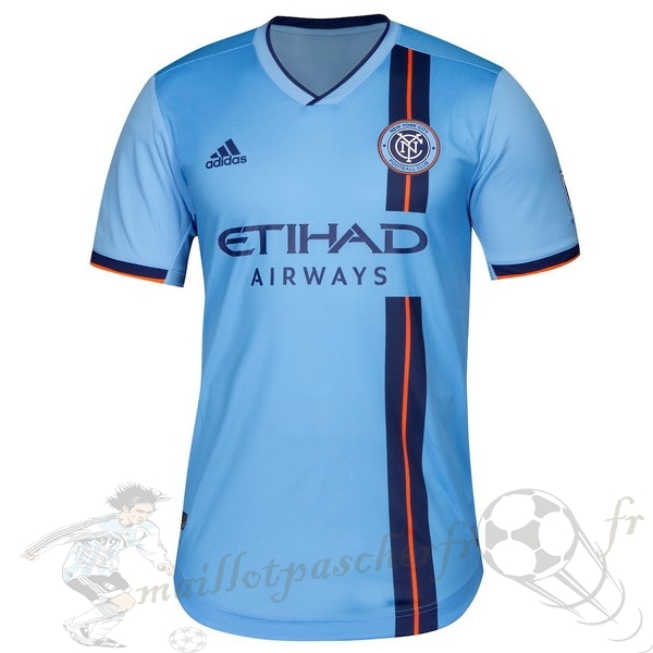 Equipement Maillot Foot Adidas DomiChili Maillot New York City 2019 2020 Bleu
