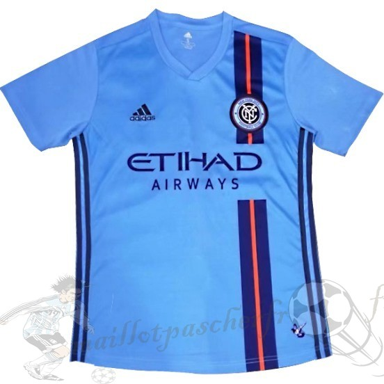 Equipement Maillot Foot Adidas Domicile Maillot New York City 2019 2020 Bleu