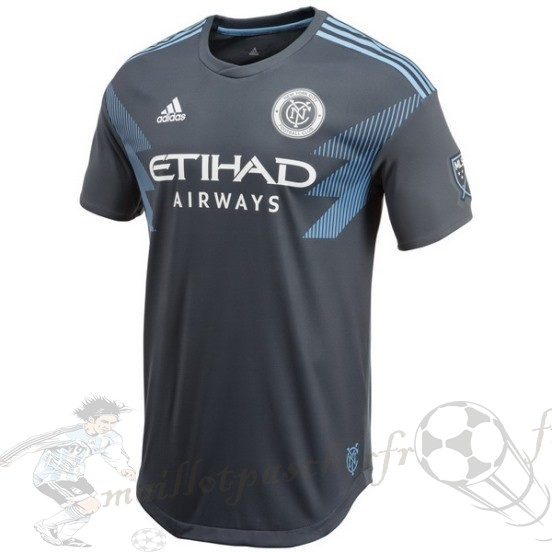Equipement Maillot Foot Adidas Exterieur Maillot New York City 2018 2019 Gris