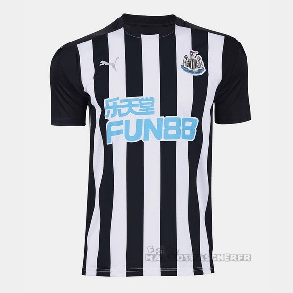 Equipement Maillot Foot PUMA Domicile Maillot Newcastle United 2020 2021 Noir