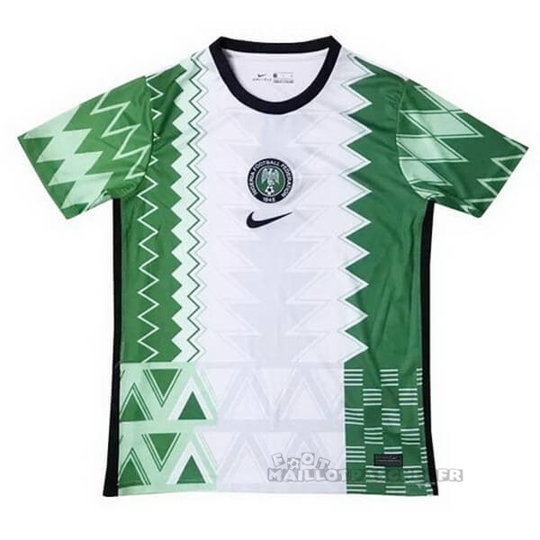 Equipement Maillot Foot Nike Domicile Maillot Nigeria 2020 Vert