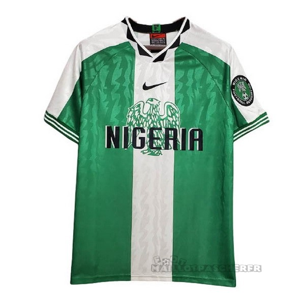 Equipement Maillot Foot Nike Domicile Maillot Nigeria Rétro 1996 Vert