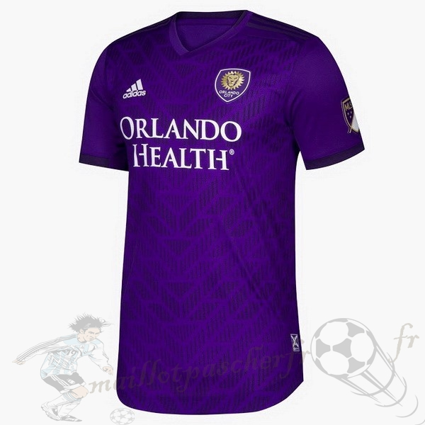 Equipement Maillot Foot Adidas DomiChili Maillot Orlando City 2019 2020 Purpura