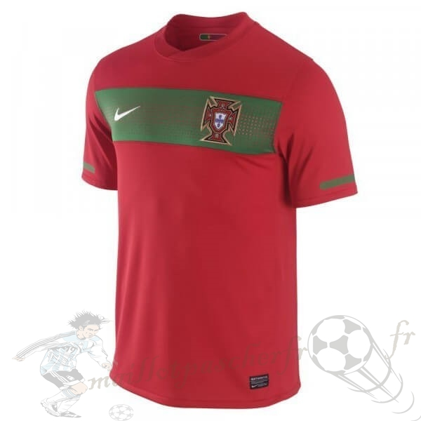 Equipement Maillot Foot Nike Domicile Maillot Portugal Rétro 1990 Rouge
