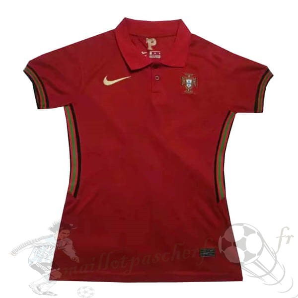 Equipement Maillot Foot Nike Domicile Maillot Femme Portugal 2020 Rouge