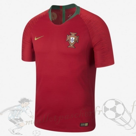 Equipement Maillot Foot Nike Thailande Domicile Maillot Portugal 2018 Rouge