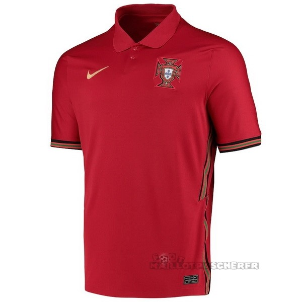 Equipement Maillot Foot Nike Thailande Domicile Maillot Portugal 2020 Rouge
