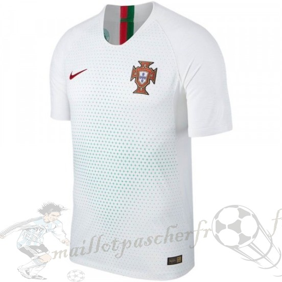 Equipement Maillot Foot Nike Thailande Exterieur Maillot Portugal 2018 Blanc
