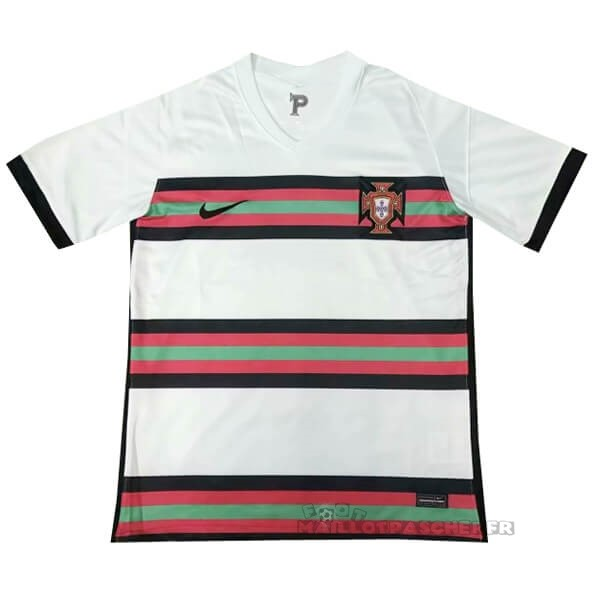 Equipement Maillot Foot Nike Thailande Exterieur Maillot Portugal 2020 Blanc