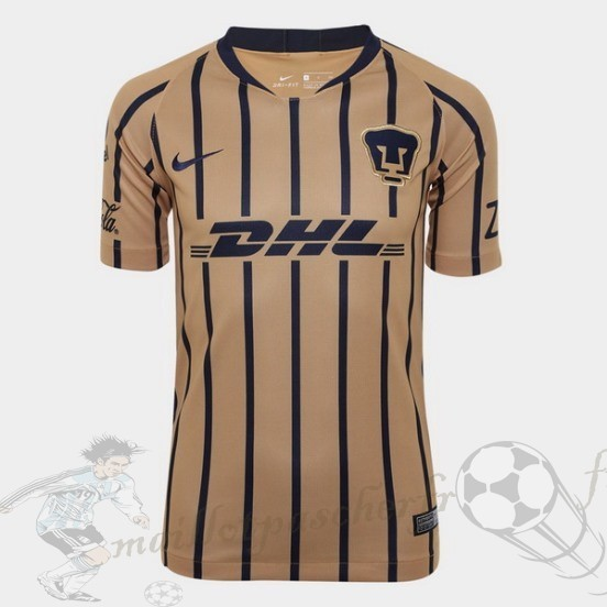 Equipement Maillot Foot Nike Exterieur Maillot Pumas Unam 2018 2019 Jaune