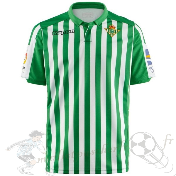 Equipement Maillot Foot Kappa Domicile Maillot Real Betis 2019 2020 Vert