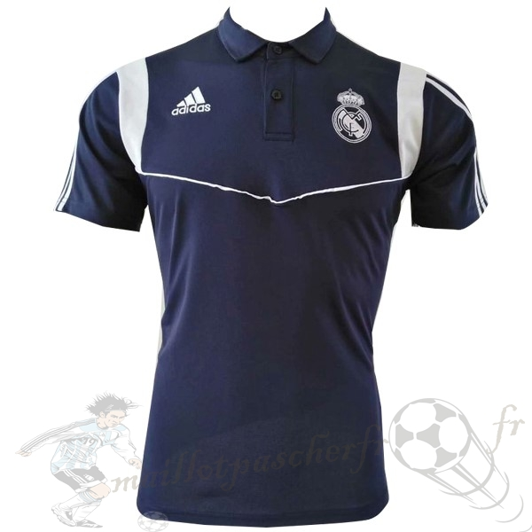 Equipement Maillot Foot adidas Polo Real Madrid 2019 2020 Bleu Marine