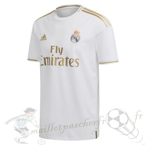 Equipement Maillot Foot adidas Thailande Domicile Maillot Real Madrid 2019 2020 Blanc