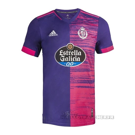 Equipement Maillot Foot adidas Exterieur Maillot Real Valladolid 2020 2021 Purpura