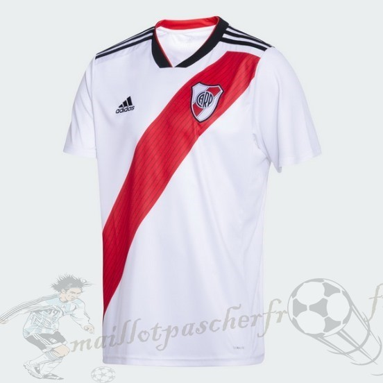 Equipement Maillot Foot Adidas Domicile Maillot River Plate 2018 2019 Blanc