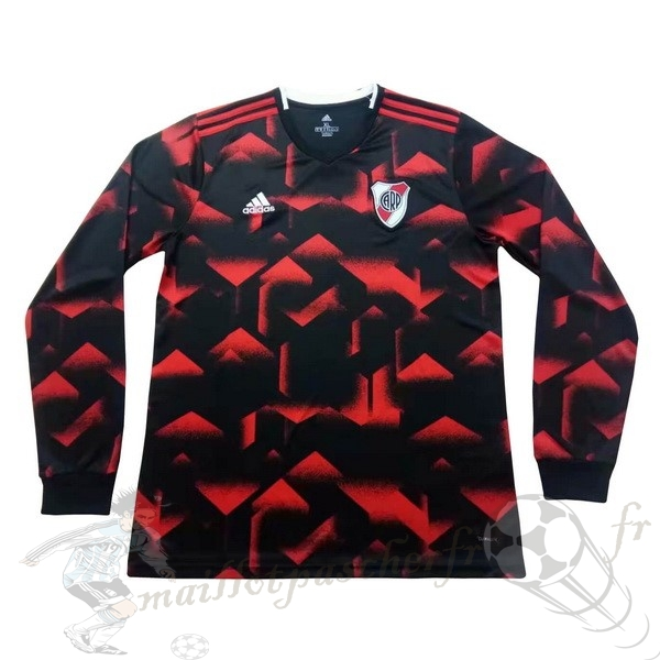 Equipement Maillot Foot adidas Exterieur Manches Longues River Plate 2019 2020 Rouge