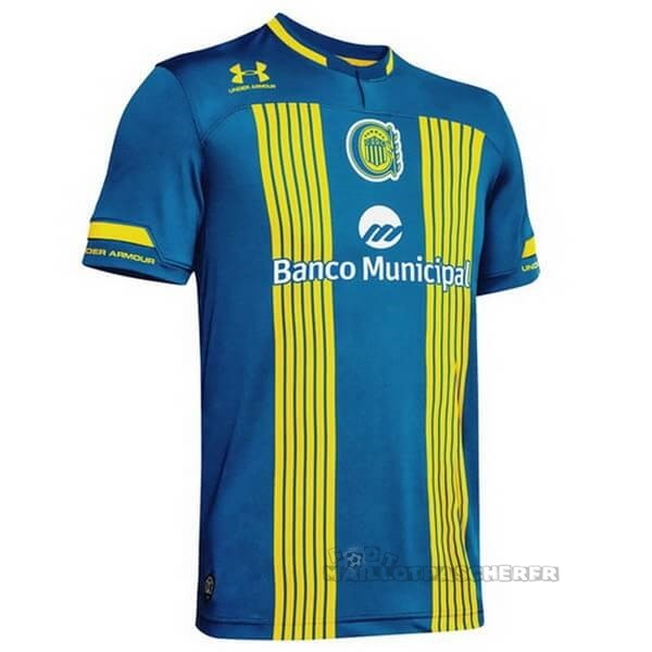 Equipement Maillot Foot Under Armour Domicile Maillot CA Roserio Central 2020 2021 Bleu Jaune
