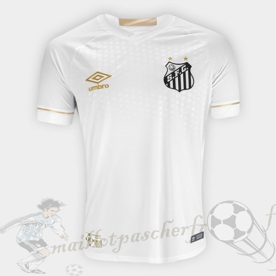Equipement Maillot Foot Umbro Domicile Maillot Santos 2018 2019 Blanc