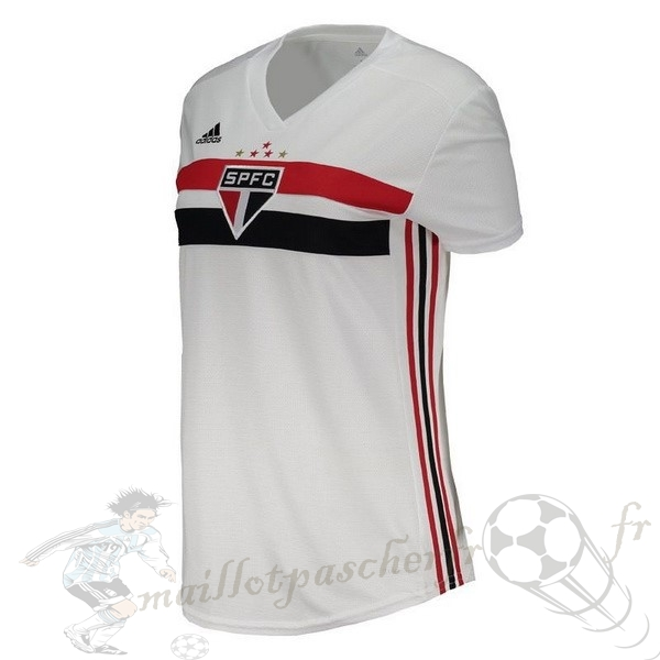 Equipement Maillot Foot adidas Domicile Maillot Femme São Paulo 2019 2020 Blanc