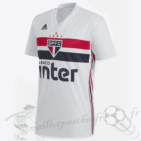 Equipement Maillot Foot Adidas DomiChili Maillot São Paulo 2019 2020 Blanc