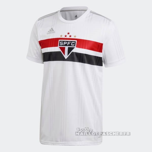 Equipement Maillot Foot adidas Domicile Maillot São Paulo 2020 2021 Blanc