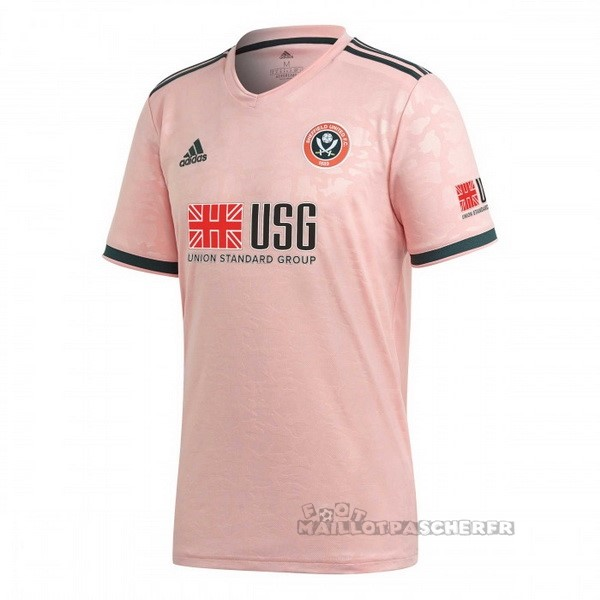 Equipement Maillot Foot adidas Exterieur Maillot Sheffield United 2020 2021 Rose