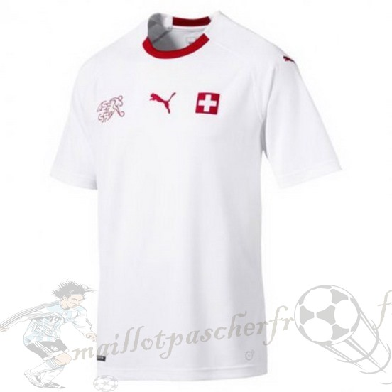 Equipement Maillot Foot Puma Exterieur Maillot Suisse 2018 Blanc