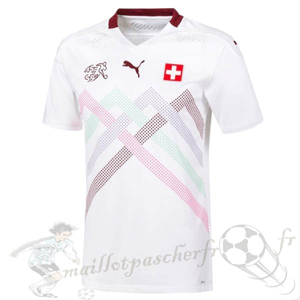 Equipement Maillot Foot PUMA Exterieur Maillot Suisse 2020 Blanc